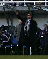 Photo: Andrew Unwin.<br />Newcastle United v Bolton Wanderers. The Barclays Premiership. 04/03/2006.<br />Bolton's manager, Sam Allardyce.