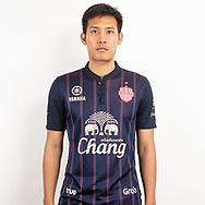 THAILAND - JUNE 26: Chitipat Thanklang #14 of Buriram United on June 26, 2019.<br /> .<br /> .<br /> .<br /> (Photo by: Naratip Golf Srisupab/SEALs Sports Images/MB Media Solutions)