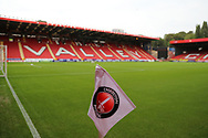 Charlton Athletic ground, The Vally during the EFL Trophy match between Charlton Athletic and AFC Wimbledon at The Valley, London, England on 4 September 2018.