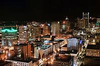 Downtown Portland @ Night