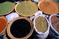 The Spice Market (in the souks of the Medina), Marrakech, Morocco