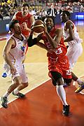 DESCRIZIONE : Roma Campionato Lega A 2013-14 Acea Virtus Roma EA7 Emporio Armani Milano <br /> GIOCATORE : Keith Langford<br /> CATEGORIA : equilibrio<br /> SQUADRA : EA7 Emporio Armani Milano <br /> EVENTO : Campionato Lega A 2013-2014<br /> GARA : Acea Virtus Roma EA7 Emporio Armani Milano <br /> DATA : 02/12/2013<br /> SPORT : Pallacanestro<br /> AUTORE : Agenzia Ciamillo-Castoria/M.Simoni<br /> Galleria : Lega Basket A 2013-2014<br /> Fotonotizia : Roma Campionato Lega A 2013-14 Acea Virtus Roma EA7 Emporio Armani Milano <br /> Predefinita :