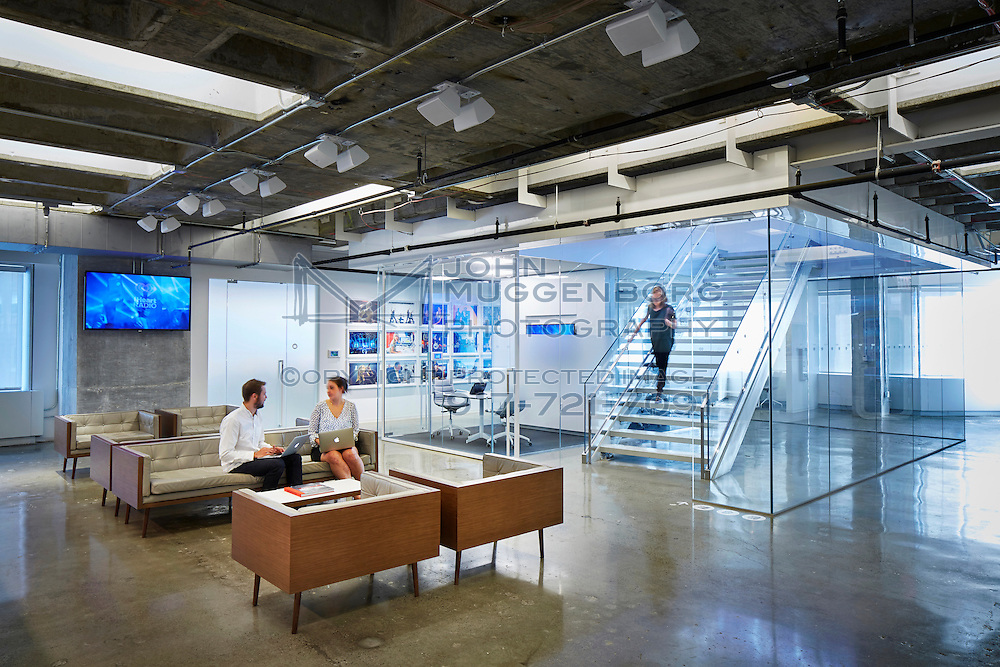 Innovative contemporary workplaces photographed by John Muggenborg.