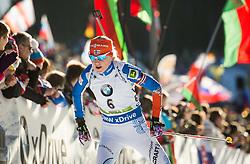 Kaisa Makarainen (FIN)  during Women 12.5 km Mass Start at day 4 of IBU Biathlon World Cup 2015/16 Pokljuka, on December 20, 2015 in Rudno polje, Pokljuka, Slovenia. Photo by Vid Ponikvar / Sportida