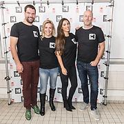 NLD/Amsterdam/20181105 - Lock me Up actie 2019, Oprichters waaronder Yolanthe Sneijder-Cabau en Arjan Erkel