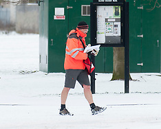 Winter Weather does not stop the post | Edinburgh  | 28 February 2018