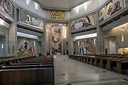 Kraków, 12.05.2016<br />  (woj. małopolskie). Centrum Jana Pawła II - kościół górny.
