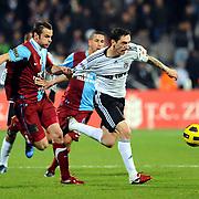 Besiktas's Roberto HILBERT (R) during their Turkey Cup Group B matchday 5 soccer match Besiktas between Trabzonspor at the Inonu stadium in Istanbul Turkey on Wednesday 26 January 2011. Photo by TURKPIX