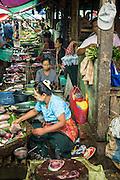 14 JUNE 2013 -  PANTANAW, AYEYARWADY, MYANMAR: The market in Pantanaw, in the Ayeyarwady Region of south-west Myanmar. It is the hometown of former United Nations Secretary-General U Thant and of the renowned artist U Ba Nyan.   PHOTO BY JACK KURTZ