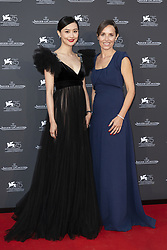 Fala Chen, Catherine Alix-Renier attend the Jaeger Le-Coultre Gala night held at Arsenale Docks during the 75th Venice Film Festival at Sala Grande on September 4, 2018 in Venice, Italy. Photo by Marco Piovanotto/ABACAPRESS.COM