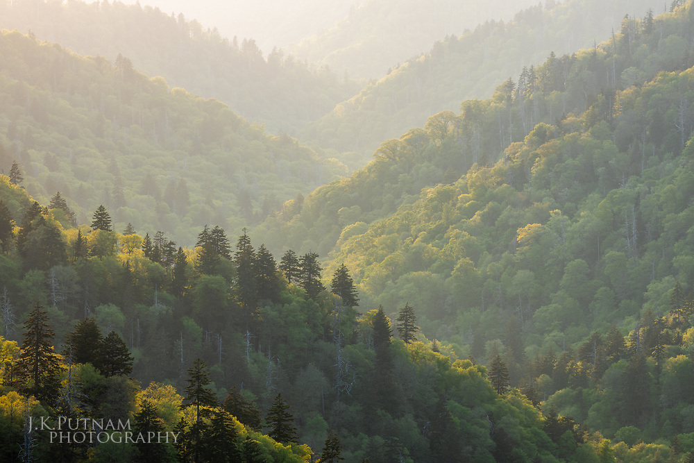 Great Smoky Mountains National Park, Tennessee & North Carolina.