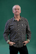 Bestselling British author David Almond, pictured at the Edinburgh International Book Festival where he talked about his latest book entitled The True Tale of Monster Billy Dean'. The three-week event is the world's biggest literary festival and is held during the annual Edinburgh Festival. The 2011 event featured talks and presentations by more than 500 authors from around the world..
