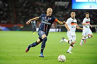 FOOTBALL - FRENCH CHAMPIONSHIP 2012/2013 - L1 - PARIS SG v FC LORIENT - 11/08/2012 - PHOTO JEAN MARIE HERVIO / REGAMEDIA / DPPI - CHRISTOPHE JALLET (PSG)