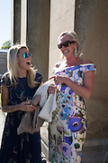 FIONA BRATTLE; SARAH BOLTON; Opening of Grange Park Opera, Fiddler on the Roof, Grange Park Opera, Bishop's Sutton, <br /> Alresford, 4 June 2015