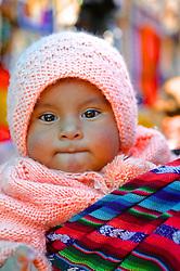 Child At Pisco Market