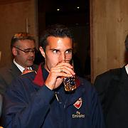 NLD/Amsterdam/20070801 - Persconferentie LG Amsterdam Tournament 2007, Robin van Persie
