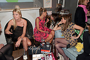 JEMMA KIDD; TATIANA OF GREECE;CAROLINE SIEBER;  EMMA ASKARI, Party hosted for Jason Wu by Plum Sykes and Christine Al-Bader. Ladbroke Grove. London. 22 March 2011. -DO NOT ARCHIVE-© Copyright Photograph by Dafydd Jones. 248 Clapham Rd. London SW9 0PZ. Tel 0207 820 0771. www.dafjones.com.