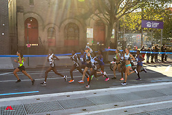 Linden leads through Brooklyn<br /> TCS New York City Marathon 2019
