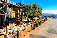 Souvenir shop. The Blyde River Canyon in South Africa forms the northern part of the Drakensberg escarpment.
