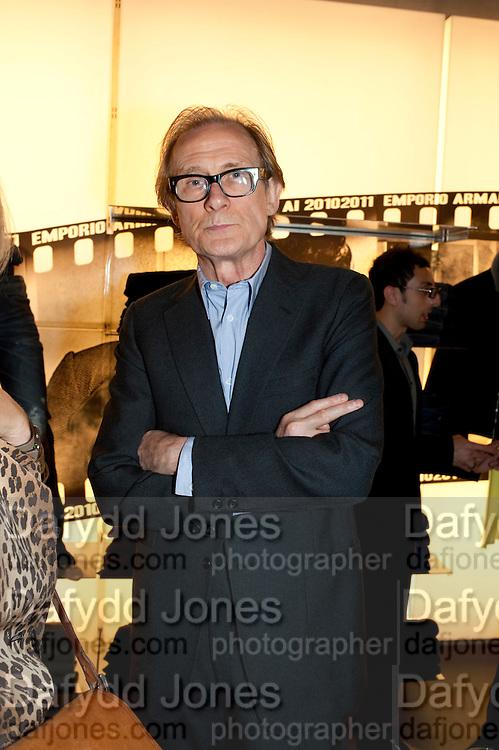 BILL NIGHY, Vogue: Fashion's Night Out: Miller Harris shop, New Bond Street, London. 8 September 2010.  -DO NOT ARCHIVE-© Copyright Photograph by Dafydd Jones. 248 Clapham Rd. London SW9 0PZ. Tel 0207 820 0771. www.dafjones.com.