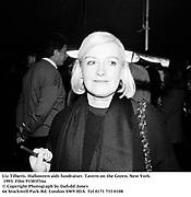 Liz Tilberis. Halloween aids fundraiser. Tavern on the Green. New York. 1993. Film 93383f34a<br />© Copyright Photograph by Dafydd Jones<br />66 Stockwell Park Rd. London SW9 0DA<br />Tel 0171 733 0108