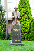 Belgrade, Serbia, Statue of Nikola Tesla (1856 -1943), a Serbian-American inventor and electrical engineer