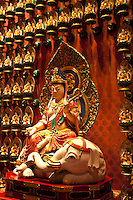 The Buddha Tooth Relic Temple and Museum is a Buddhist temple and museum complex located in Chinatown Singapore. The temple follows Tang dynasty architectural styles and built to house the tooth relic of Buddha.