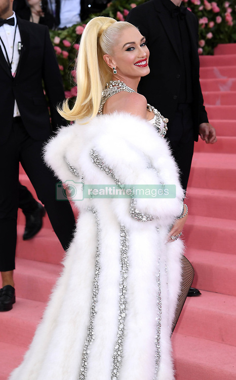 """Gwen Stefani at the 2019 Costume Institute Benefit Gala celebrating the opening of """"Camp: Notes on Fashion"""".<br />(The Metropolitan Museum of Art, NYC)"""