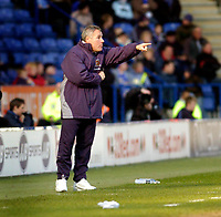 Photo: Leigh Quinnell.<br /> Leicester City v Hull FC. Coca Cola Championship. 04/03/2006. Hull boss Peter Taylor points out a problem.