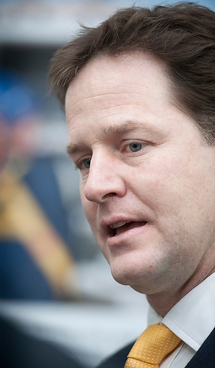 © London News Pictures. FILE PIC DATED 11/03/2012.  Gateshead, UK.  Nick Clegg at the Liberal Democrat spring conference in 2012. Lib Dem MP Jo Swinson is to face questioning over allegations that she failed to act on information about the inappropriate sexual behaviour of a senior Liberal Democrat official while she was spokesperson for women and equality. Photo credit : Ben Cawthra/LNP