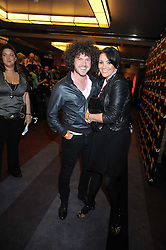 JACK McMANUS and MARTINE McCUTCHEON at the launch of Nokia's 'Comes With Music' held at the Bloomsbury Ballroom, 37-63 Bloomsbury Square, London WC1 on 21st October 2008.