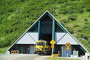 Alaska Railroad and Anton Anderson Tunnel