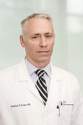 Thoracic Surgeon Jonathan Kraut, MD, photographed Thursday, May 28, 2015 at Baptist Health in Louisville, Ky. (Photo by Brian Bohannon/Videobred for Baptist Health)