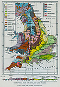 Geological m of England and Wales, 1892.