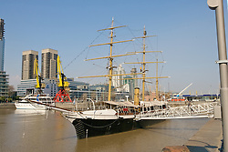 Fragata Presidente Sarmiento, a 1897 Argentine Navy training boat converted into a museum