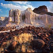 Volcanic ash area, Big Bend National Park. 4x5 Kodak Ektar 100. photo by Nathan Lambrecht
