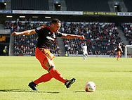 Samir Carruthers of Sheffield Utd  in a action during the English League One match at  Stadium MK, Milton Keynes. Picture date: April 22nd 2017. Pic credit should read: Simon Bellis/Sportimage