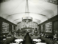 1961 Interior of The Brown Derby in Hollywood