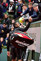 Jean GACHASSIN / Jo Wilfried TSONGA - 31.05.2015 - Jour 8 - Roland Garros 2015 <br />
