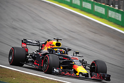 November 10, 2018 - Sao Paulo, Sao Paulo, Brazil - DANIEL RICCIARDO, of Red Bull Racing, during the free practice session for the Formula One Grand Prix of Brazil at Interlagos circuit, in Sao Paulo, Brazil. The grand prix will be celebrated next Sunday, November 11. (Credit Image: © Paulo LopesZUMA Wire)