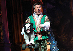 Billy Pierce in Robin Hood pantomime
