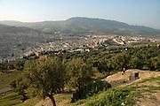 Morocco, Fes, cityscape