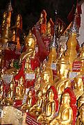Myanmar, Shan State, Pindaya, The Pindaya Cave houses thousands of Buddha statues