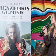 """NLD/Amsterdam/20161031 - Boekpresentatie Ellen Hoog """"Grenzeloos Gezond"""", Ellen Hoog"""