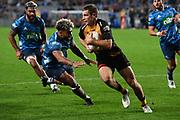 Kyle Godwin.<br /> Blues v Force, Sky Super Rugby Trans-Tasman. Eden Park, Auckland. New Zealand. Saturday 12 June 2021. © Copyright Photo: Andrew Cornaga / www.photosport.nz