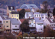 Pittsburgh, PA, Southside, Hillside Houses,