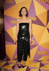 Maggie Gyllenhaal at the HBO's 2018 Official Golden Globe Awards After Party held at the Circa 55 Restaurant in Beverly Hills, USA on January 7, 2018. (Photo by Lumeimages/Sipa USA)