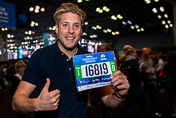 02-11-2018 USA: NYC Marathon We Run 2 Change Diabetes day 1, New York<br /> The day to get up for your number at the Expo / Lars