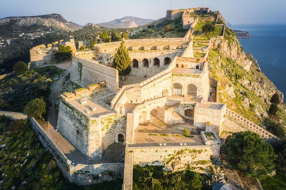 Fortress of Palamidi at Nafplio, Greece