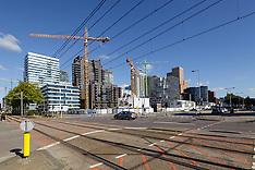 Bouwplaatsen, building sites, construction